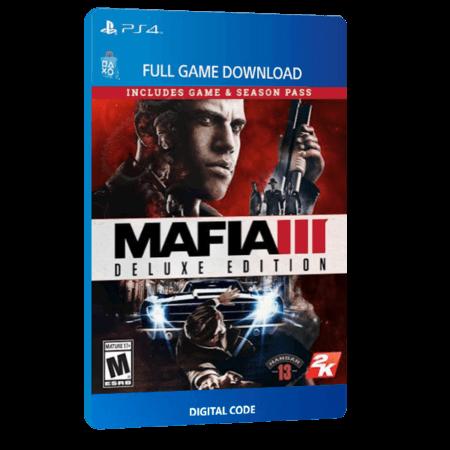 خرید بازی دیجیتال Mafia III Deluxe Editionبرای PS4