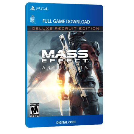 خرید بازی دیجیتال Mass Effect Andromeda Deluxe Recruit Edition