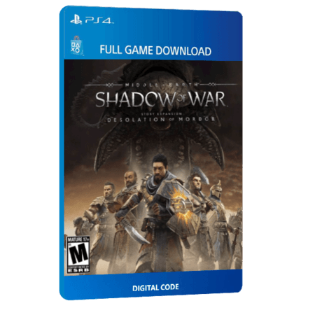 خرید بازی دیجیتال Middle-earth Shadow of War Desolation of Mordor Story Expansion