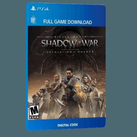 خرید بازی دیجیتال Middle-earth Shadow of War Desolation of Mordor Story Expansion