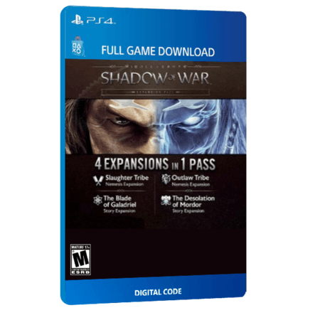 خرید بازی دیجیتال Middle-earth Shadow of War Expansion Pass
