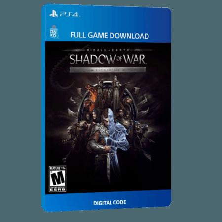 خرید بازی دیجیتال Middle-earth Shadow of War Silver Edition
