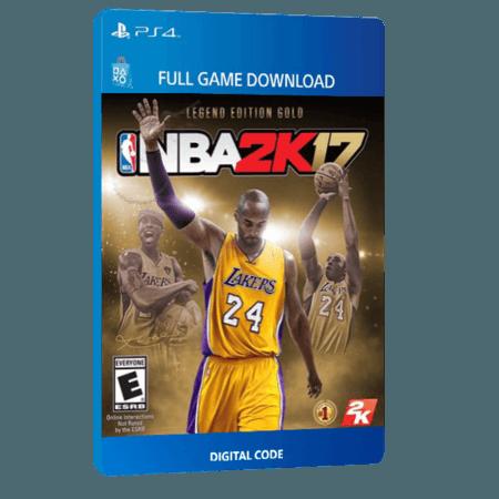 خرید بازی دیجیتال NBA 2K17 Legend Edition Goldبرای PS4