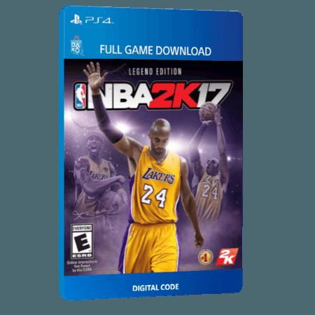 خرید بازی دیجیتال NBA 2K17 Legend Editionبرای PS4