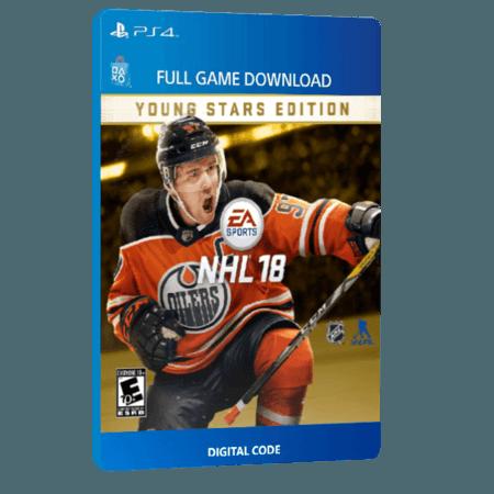 خرید بازی دیجیتال NHL 18 Young Stars Editionبرای PS4