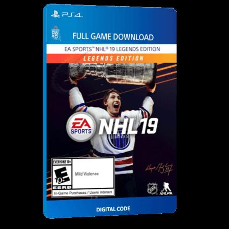 خرید بازی دیجیتال NHL 19 Legends Editionبرای PS4