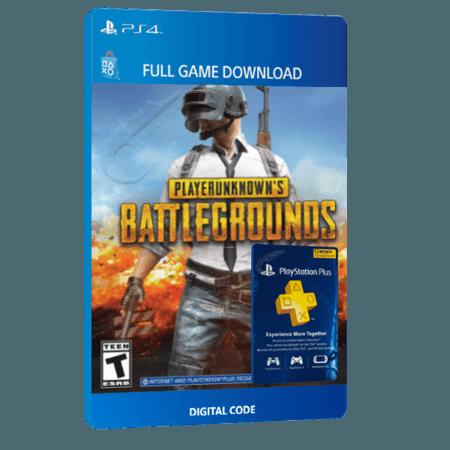 خرید بازی دیجیتال PLAYERUNKNOWN'S BATTLEGROUNDS + 12 Month PlayStation Plus Membershipبرای PS4