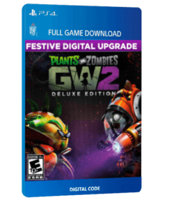 خرید بازی دیجیتال Plants Vs Zombies Garden Warfare 2 Festive Deluxe Edition برای PS4