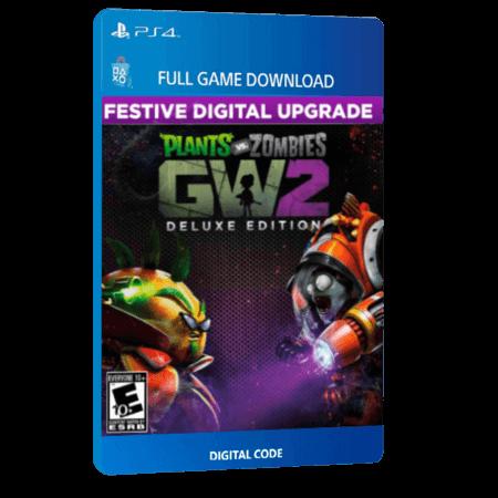 خرید بازی دیجیتال Plants Vs Zombies Garden Warfare 2 Festive Deluxe Editionبرای PS4