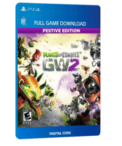 خرید بازی دیجیتال Plants Vs Zombies Garden Warfare 2 Festive Edition برای PS4