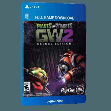 خرید بازی دیجیتال Plants vs. Zombies Garden Warfare 2 Deluxe Editionبرای PS4