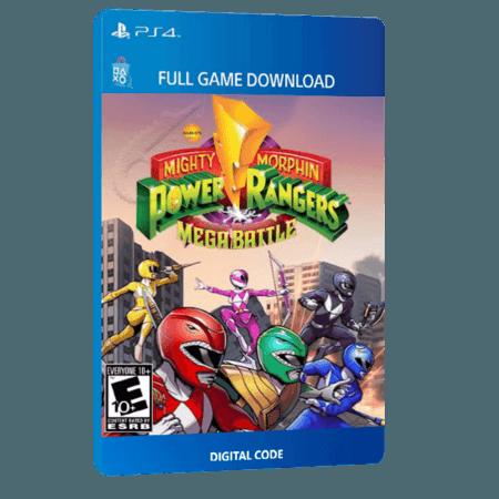 خرید بازی دیجیتال Saban's Mighty Morphin Power Rangers Mega Battleبرای PS4