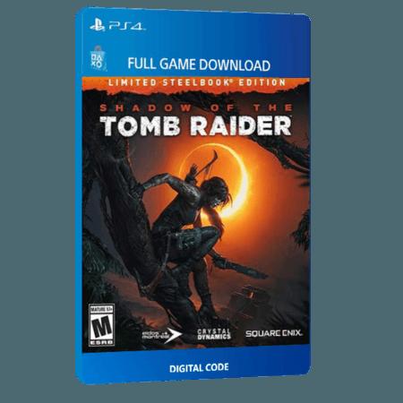 خرید بازی دیجیتال Shadow of The Tomb Raider Digital Deluxe Editionبرای PS4