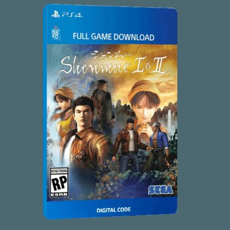 خرید بازی دیجیتال Shenmue I & IIبرای PS4