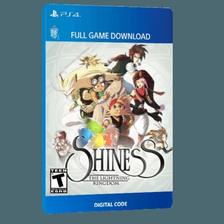 خرید بازی دیجیتال Shiness The Lightning Kingdomبرای PS4