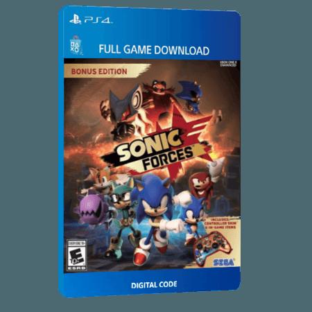 خرید بازی دیجیتال Sonic Forces Bonus Editionبرای PS4