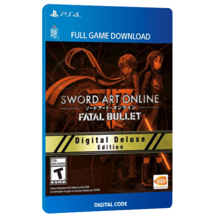 خرید بازی دیجیتال Sword Art Online Fatal Bullet Digital Deluxe Edition