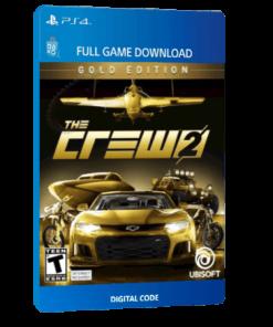 خرید بازی دیجیتال The Crew 2 Gold Editionبرای PS4