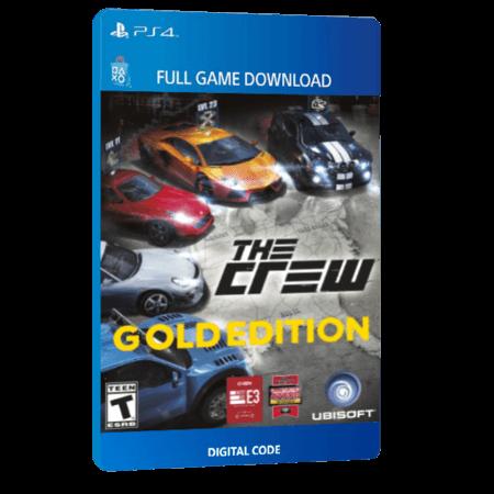 خرید بازی دیجیتال The Crew Gold Editionبرای PS4