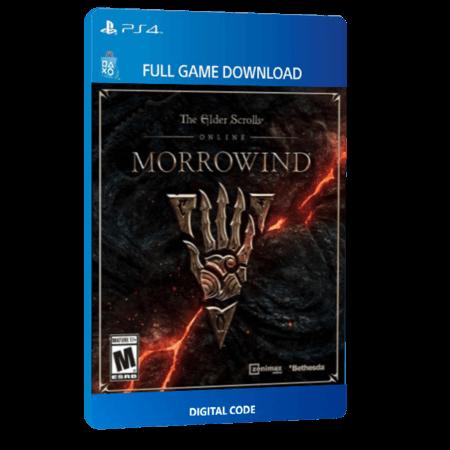 خرید بازی دیجیتال The Elder Scrolls Online Morrowindبرای PS4