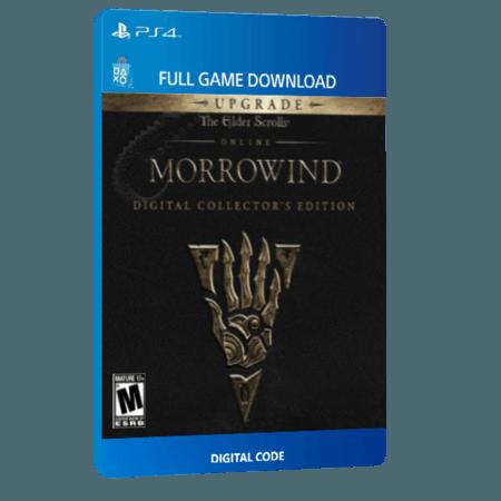 خرید بازی دیجیتال The Elder Scrolls Online Morrowind Digital Collector's Edition Upgradeبرای PS4
