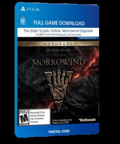 خرید بازی دیجیتال The Elder Scrolls Online Morrowind Upgradeبرای PS4