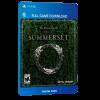 خرید بازی دیجیتال The Elder Scrolls Online Summersetبرای PS4
