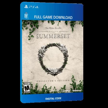 خرید بازی دیجیتال The Elder Scrolls Online Summerset Digital Collector's Editionبرای PS4