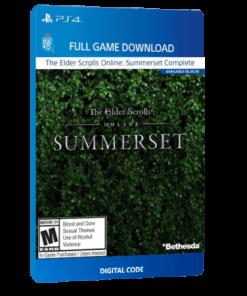 خرید بازی دیجیتال The Elder Scrolls Online Summerset Standard Editionبرای PS4