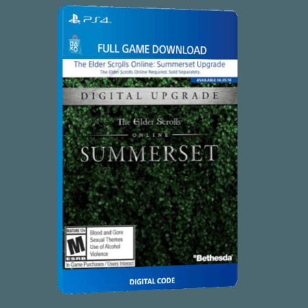 خرید بازی دیجیتال The Elder Scrolls Online Summerset Standard Edition Upgradeبرای PS4