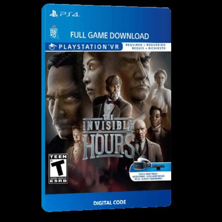 خرید بازی دیجیتال The Invisible Hoursبرای PS4