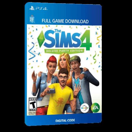 خرید بازی دیجیتال The Sims 4 Deluxe Party Edition