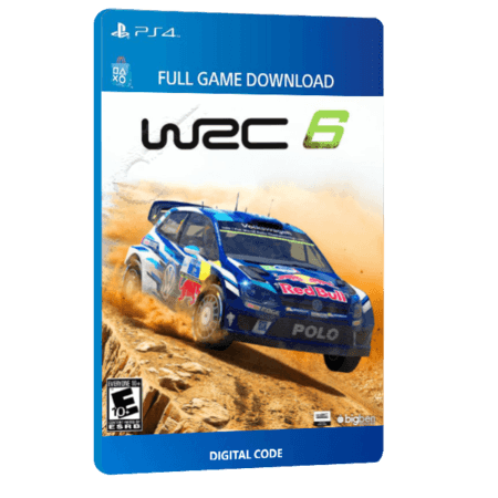 خرید بازی دیجیتال WRC 6