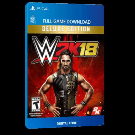 خرید بازی دیجیتال WWE 2K18 Deluxe Edition برای PS4