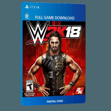 خرید بازی دیجیتال WWE 2K18 برای PS4