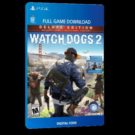 خرید بازی دیجیتال Watch Dogs 2 Deluxe Edition برای PS4