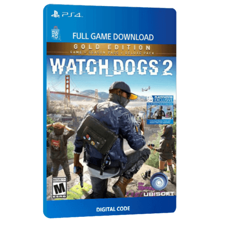 خرید بازی دیجیتال Watch Dogs 2 Gold Edition برای PS4