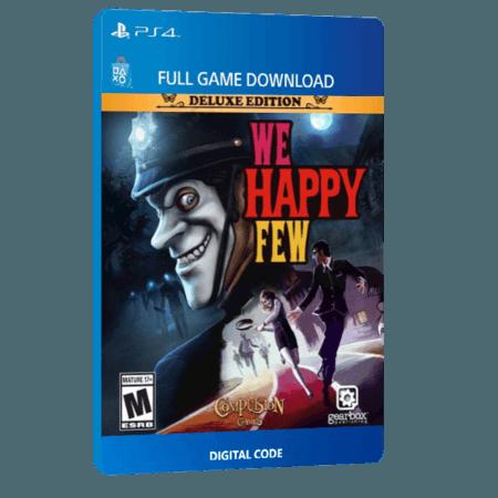 خرید بازی دیجیتال We Happy Few Deluxe Edition برای PS4