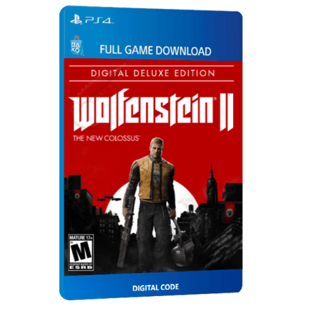 خرید بازی دیجیتال Wolfenstein II The New Colossus Deluxe Edition