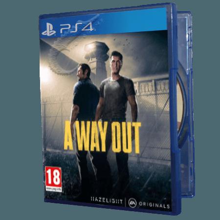 خرید بازی دست دوم و کارکرده A way Out برای PS4