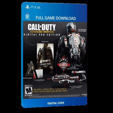 خرید بازی دیجیتال Call of Duty Advanced Warfare Digital Pro Edition برای PS4