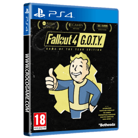 خرید بازی Fallout 4 Game Of The Year برای PS4