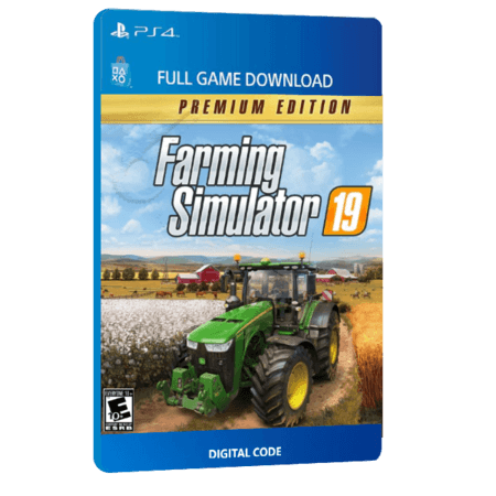 خرید بازی دیجیتال Farming Simulator 19 Premium Edition