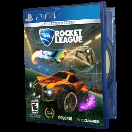 خرید بازی دست دوم و کارکرده Rocket League Collector's Edition برای PS4
