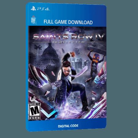 خرید بازی دیجیتال Saints Row IV Re-Electedبرای PS4