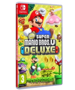 خرید بازی New Super Mario Bros.U Deluxe برای Nintendo Switch