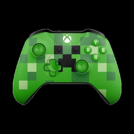 خرید دسته ماینکرفت Xbox One Minecraft Creeper Wireless Controller