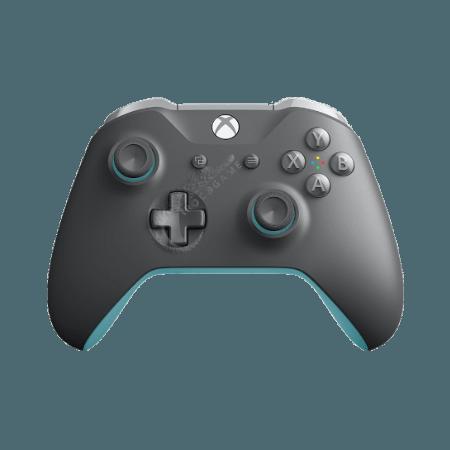 خرید دسته خاکستری و آبی Xbox One Grey/Blue Wireless Controller