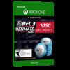 خرید بازی دیجیتال 1.050 UFC 3 Points