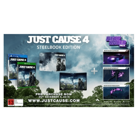 خرید بازی Just Cause 4 Steel Book Edition برای PS4